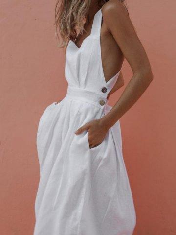 Backless Dress – Resolinlin Brand