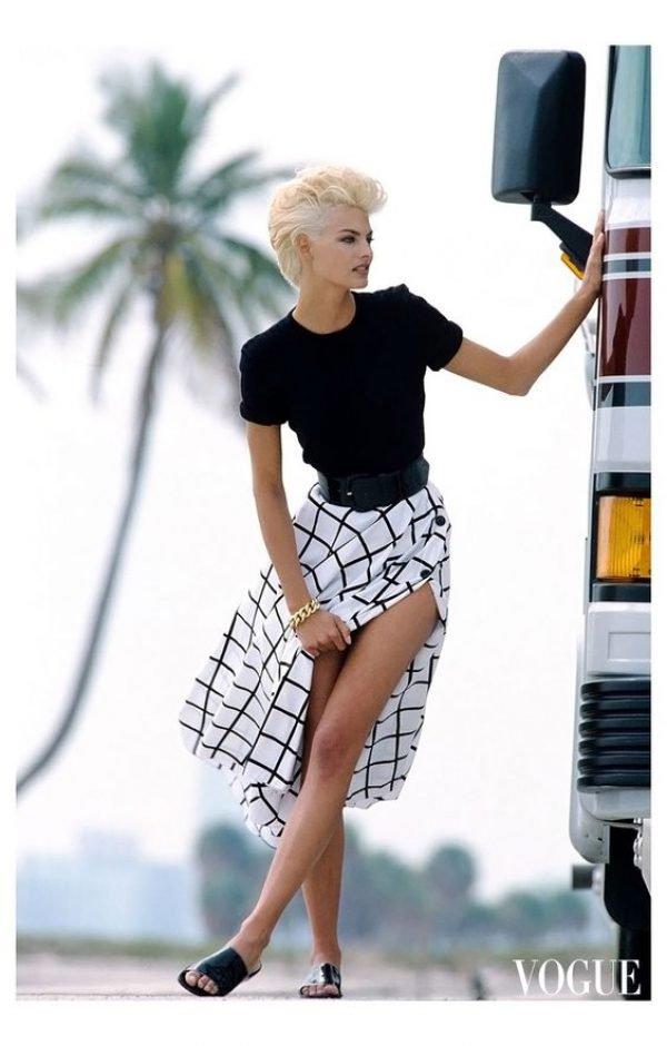 90s Fashion, Linda Evangelista