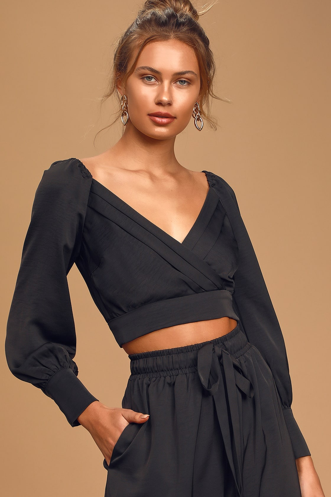 Night Out Crop Top